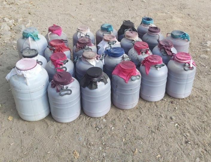 Elazığ´da 1 tondan fazla kaçak içki ele geçirildi