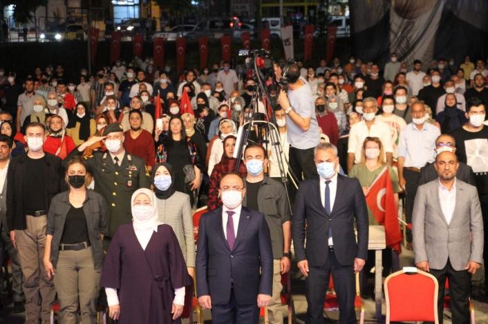 Elazığ´da 15 Temmuz Demokrasi ve Milli Birlik Günü törenle kutlandı