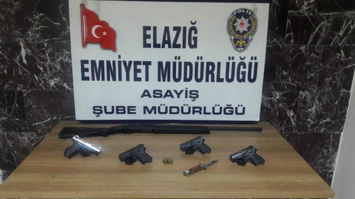 Elazığ´da aranan 47 şahıs yakalanıp tutuklandı