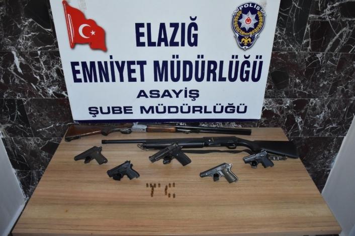 Elazığ´da aranan 93 şahıs yakalandı 27´si tutuklandı