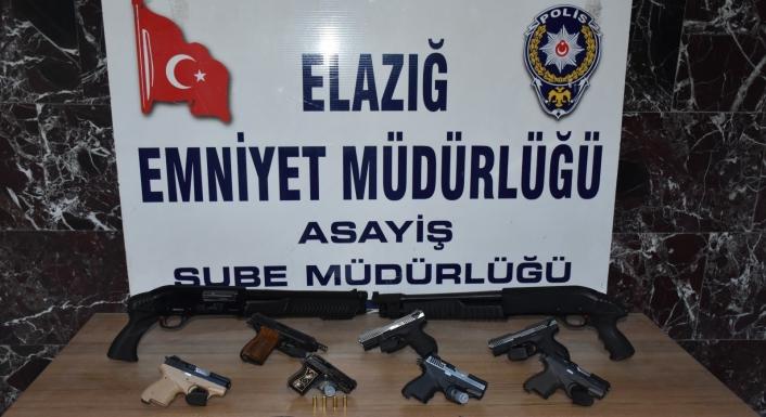 Elazığ´da asayiş ve şok uygulamaları: 81 kişi yakalandı