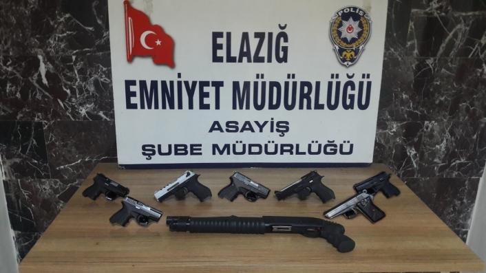 Elazığ´da asayiş ve şok uygulamalarla yakalanan 38 şüpheli tutuklandı