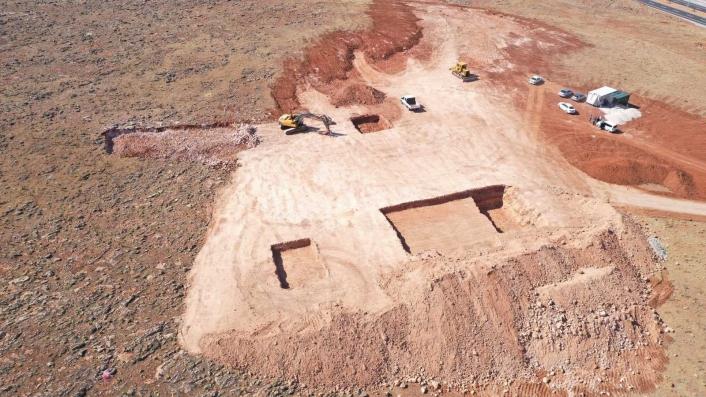 Elazığ´da atık getirme merkezi inşaatı çalışmalarına başlandı