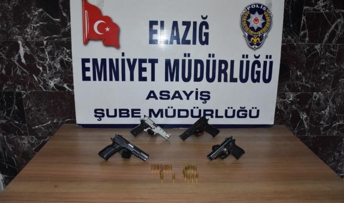 Elazığ´da bir haftada aranan 96 şahıs yakalandı, 17´si tutuklandı