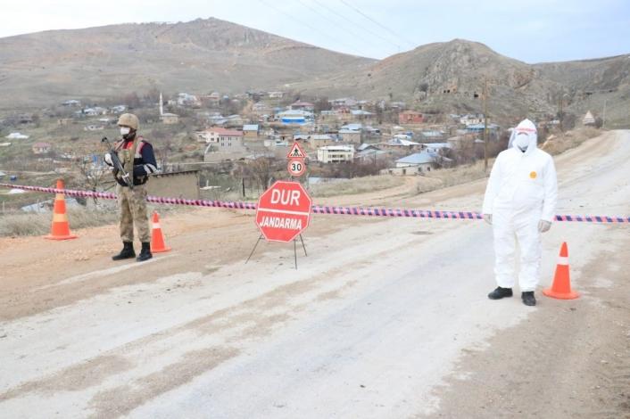 Elazığ´da Covid-19 nedeniyle karantinaya alınan köy sayısı 3´e çıktı