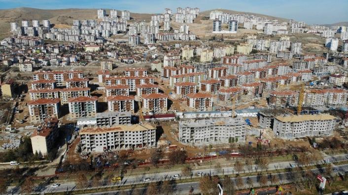 Elazığ´da deprem sonrası yapılan konutlar 100 bin kişiye sıcak yuva olacak