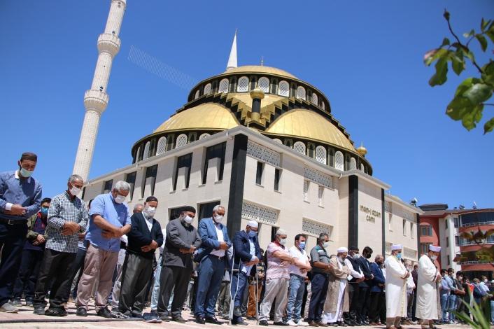 Elazığ´da Filistinli şehitler için gıyabi cenaze namazı kılındı