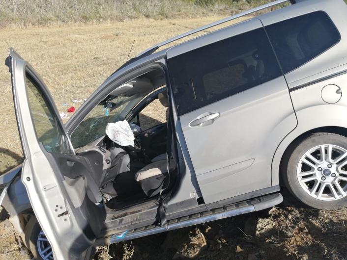 Elazığ´da hafif ticari araçlar çarpıştı: 7 yaralı