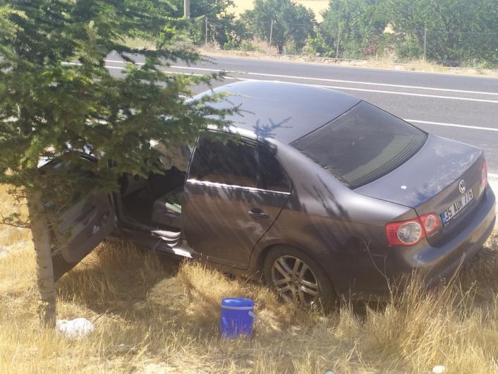 Elazığ´da iki otomobil çarpıştı: 6 yaralı