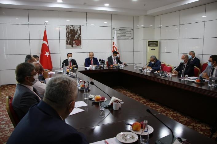 Elazığ´da Kamu-Üniversite-Sanayi İşbirliği İl Planlama ve Geliştirme Kurulu dönem toplantısı