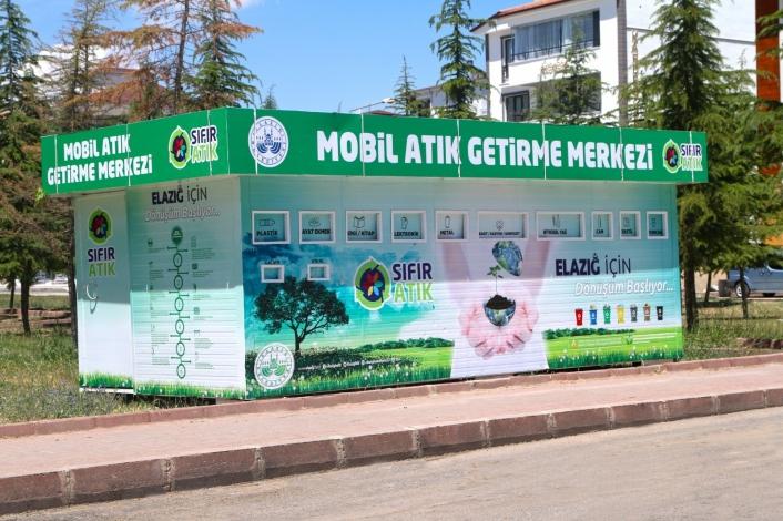 Elazığ´da mobil atık merkezleriyle çevre korunacak, ekonomiye katkı sağlanacak