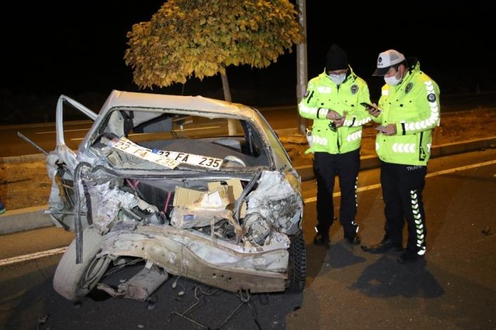 Elazığ´da otomobiller hurdaya döndü: 7 yaralı
