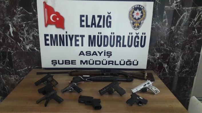 Elazığ´da şok uygulamalarda yakalanan 28 şüpheli tutuklandı