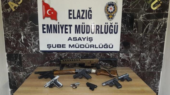 Elazığ´da şok ve asayiş uygulamalarında yakalanan 35 şüpheli tutuklandı