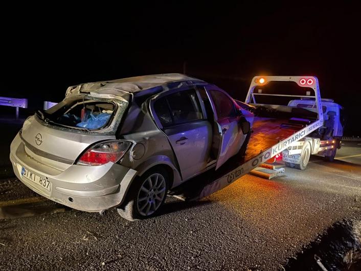 Elazığ´da trafik kazası: 1 yaralı