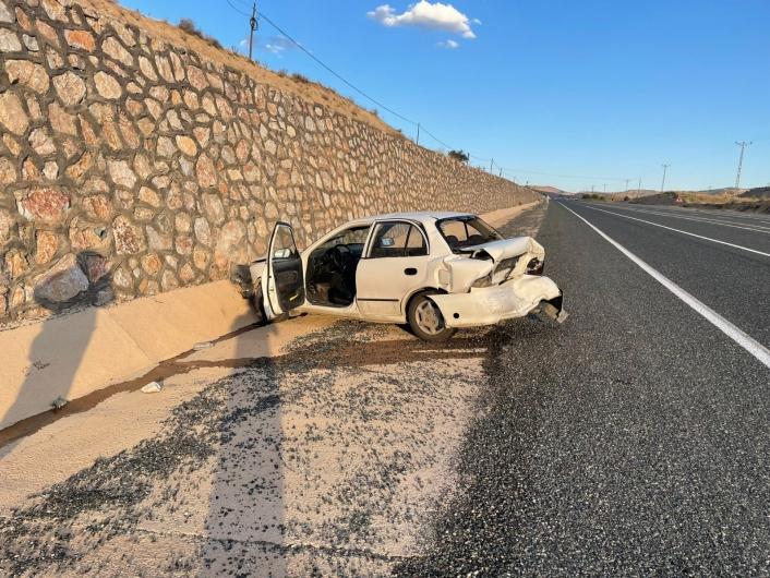 Elazığ´da trafik kazası: 3 yaralı