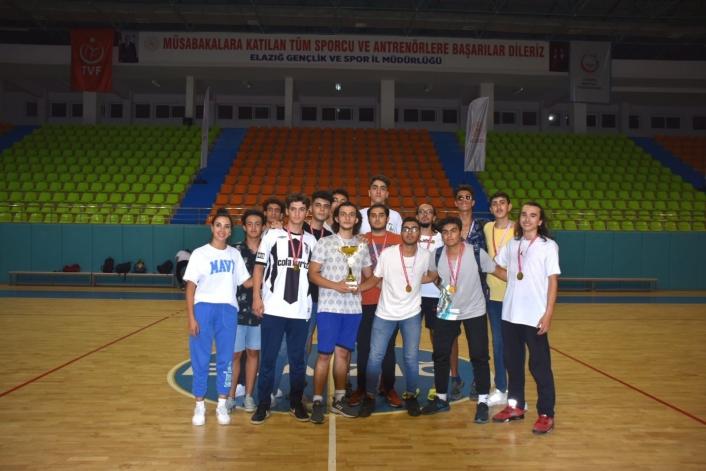 Elazığ´da U18 basketbol müsabakaları sona erdi