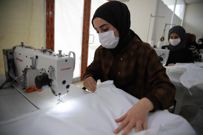 Elazığ´da üretiliyor, Avrupa ve ABD´li sağlıkçılara gönderiliyor