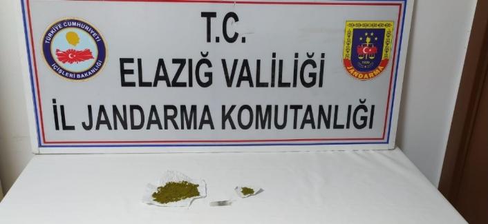 Elazığ´da uyuşturucu ile mücadele:2 gözaltı