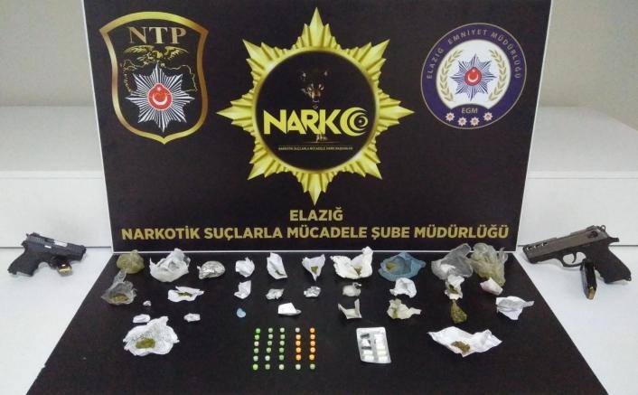 Elazığ´da uyuşturucu ile mücadele 36 şahsa işlem yapıldı
