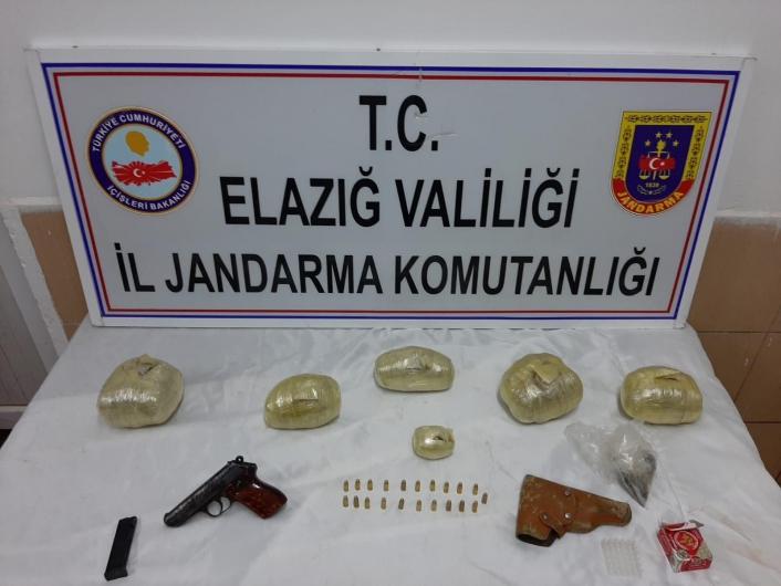 Elazığ´da uyuşturucu operasyonu: 2 şüpheli yakalandı