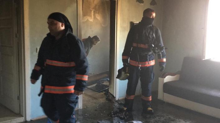 Elazığ´da yangında 8 aylık bebek öldü, 2 çocuk yaralandı