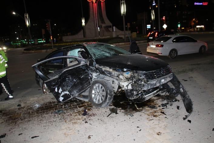 Elazığ´da zincirleme trafik kazası: 5 yaralı