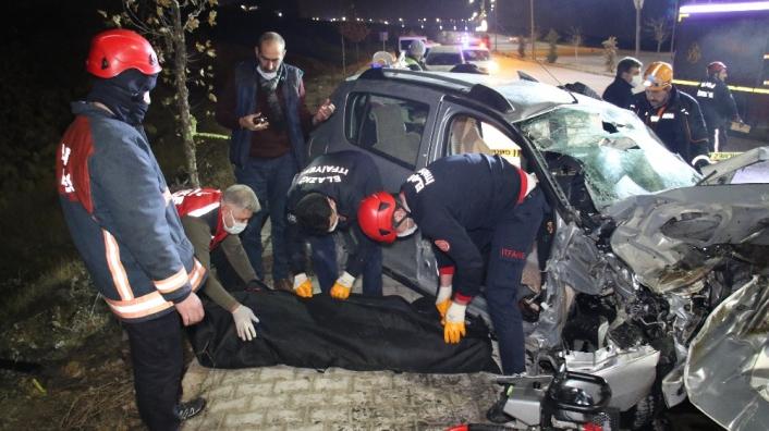 Elazığ´daki feci kazada ölen 4 kişinin kimliği belli oldu