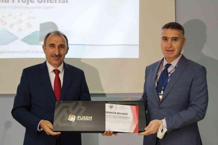 Elazığ Fırat Üniversitesinde `TUBİTAK 2237´ destekleme programı