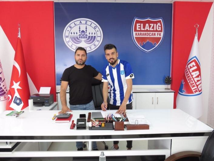 Elazığ Karakoçan FK, Cuma Ali Üzüm´ü kadrosuna kattı