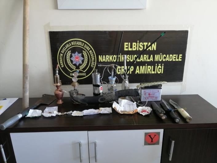 Elbistan´da uyuşturucu operasyonu: 11 gözaltı