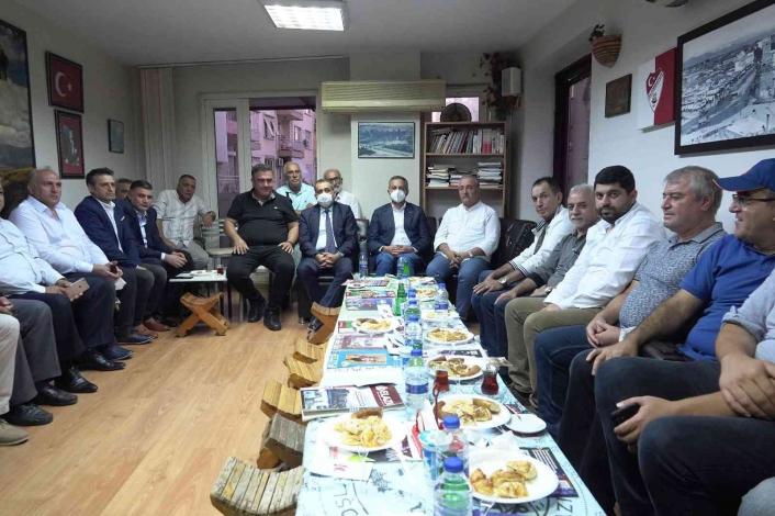 ETSO Başkanı Asilhan Arslan, Antalya´da Elazığlı vatandaşlarla bir araya geldi