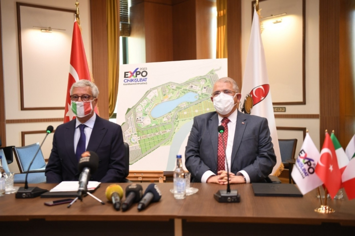 Expo 2023 için İtalya ile katılım anlaşması imzalandı