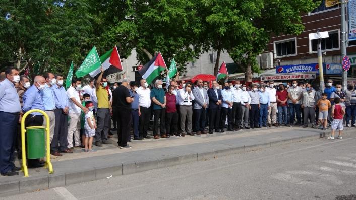 Filistin için Adıyaman´da dualar edildi
