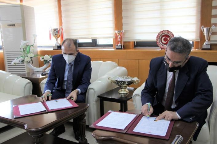 FÜ ile Orman Bölge Müdürlüğü arasında iki protokol imzalandı