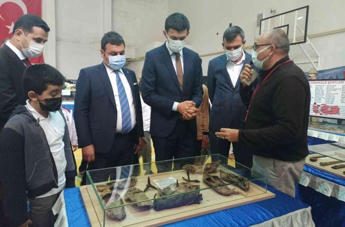 Gölbaşı´nda Çanakkale savaşları gezici müzesi ziyarete açıldı
