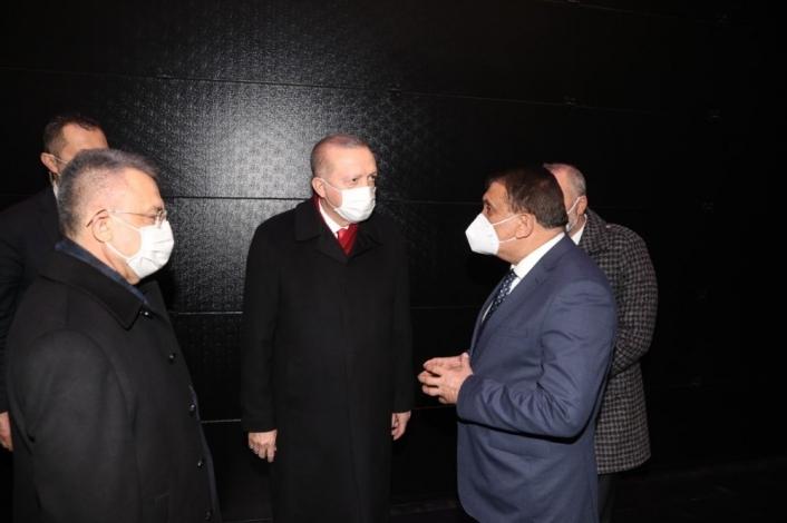 Gürkan, Türkiye Belediyeler Birliği´ne başkanlık etti