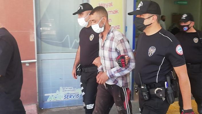 Hapis cezası bulunan şahıs metruk binada yakalandı