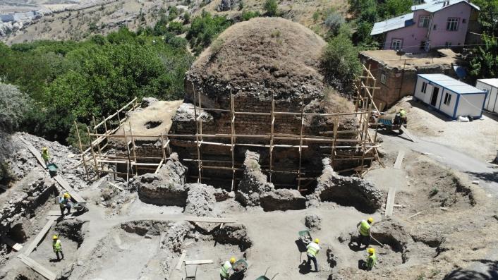 Harput´un turizmine katkı, çalışma başlatılan tarihi hamam müzeye dönüşecek