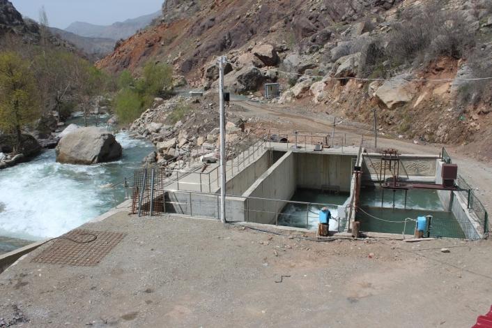Haydaran´da içme suyu için 2 büyük dinlenme havuzu yapıldı