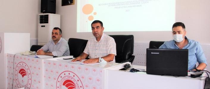 Hayvancılık İşletmelerine Yönelik Yatırımların Desteklenmesi Projesi anlatıldı