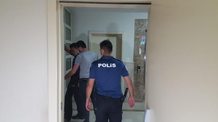 Hırsızlık ihbarı polis ekiplerini harekete geçirdi