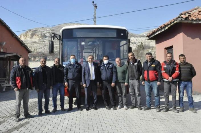 İBB, Sivas´ın Gürün belediyesine otobüs hediye etti