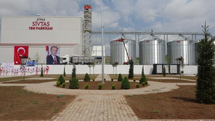 İki yılda tamamlandı günde 500 ton üretim yapacak