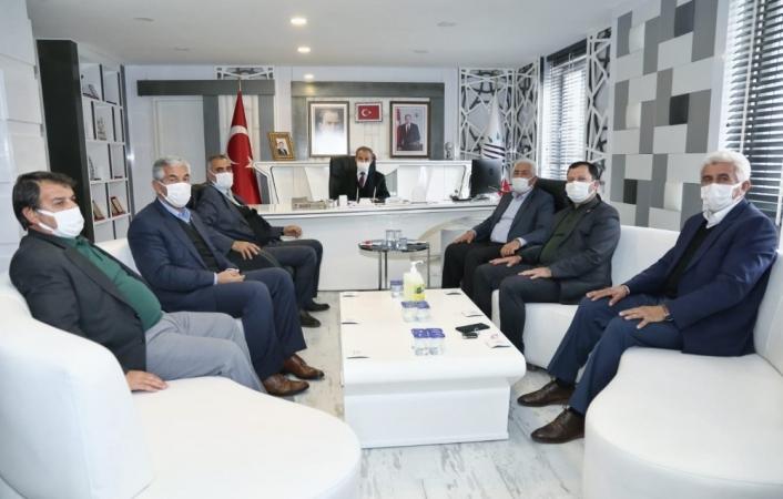 İl genel meclisi üyelerinden Başkan Kılınç´a ziyaret