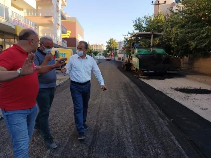 İl genelinde asfalt çalışmaları başladı