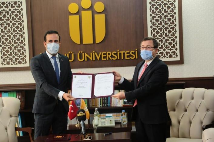 İnönü Üniversitesi ile Yeni Malatyaspor arasında iş birliği anlaşması