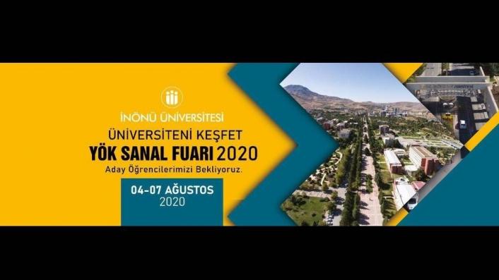 İnönü Üniversitesi YÖK Sanal Fuarı´nda olacak