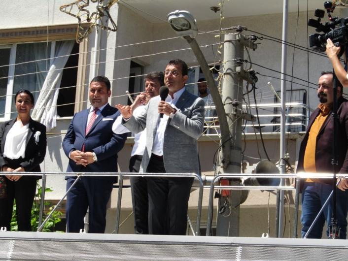 İstanbul Büyükşehir Belediye Başkanı İmamoğlu´ndan Gölbaşı´na ziyaret