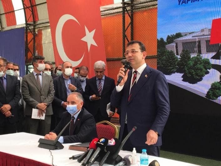 İstanbul Büyükşehir Belediyesinin Elazığ´da yaptıracağı okul için protokol imzalandı